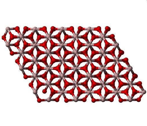 ساختار لایه ی آنودایز آلومینیوم